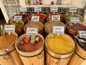 Gewürze in der Medina von Nabeul