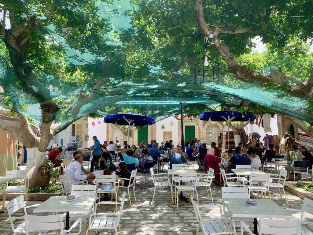 Im Norden Tunesiens: Place du Caire in Mahdia