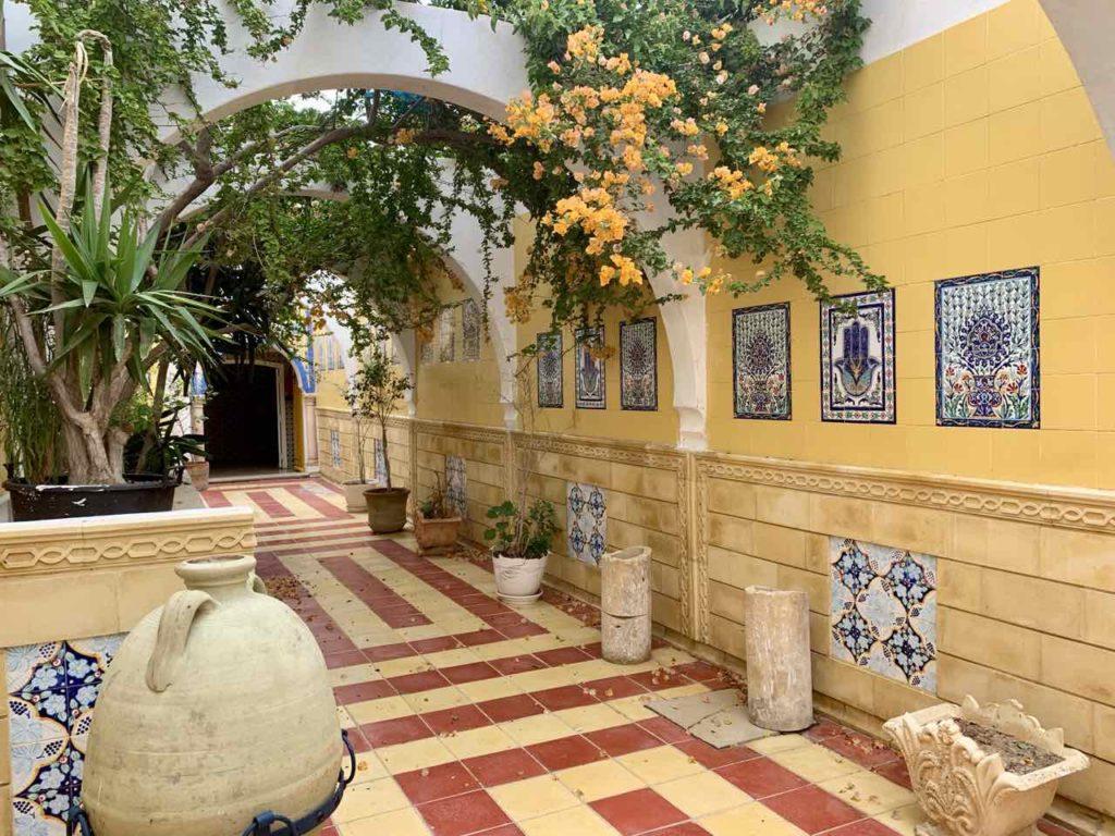 Im Norden von Tunesien: Hammam von Mahdia