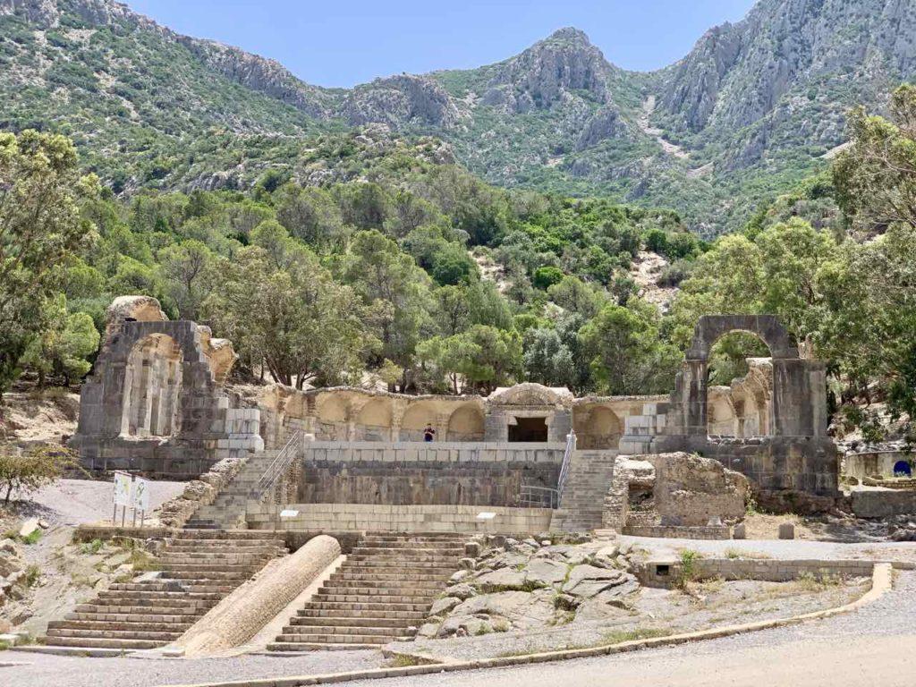 Tunesiens Norden: Parc du Temple des Eaux in Zaghouan