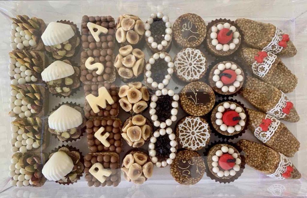 Der Norden von Tunesien: Süßigkeiten in der Patisserie Milanda Sweets in Mahdia