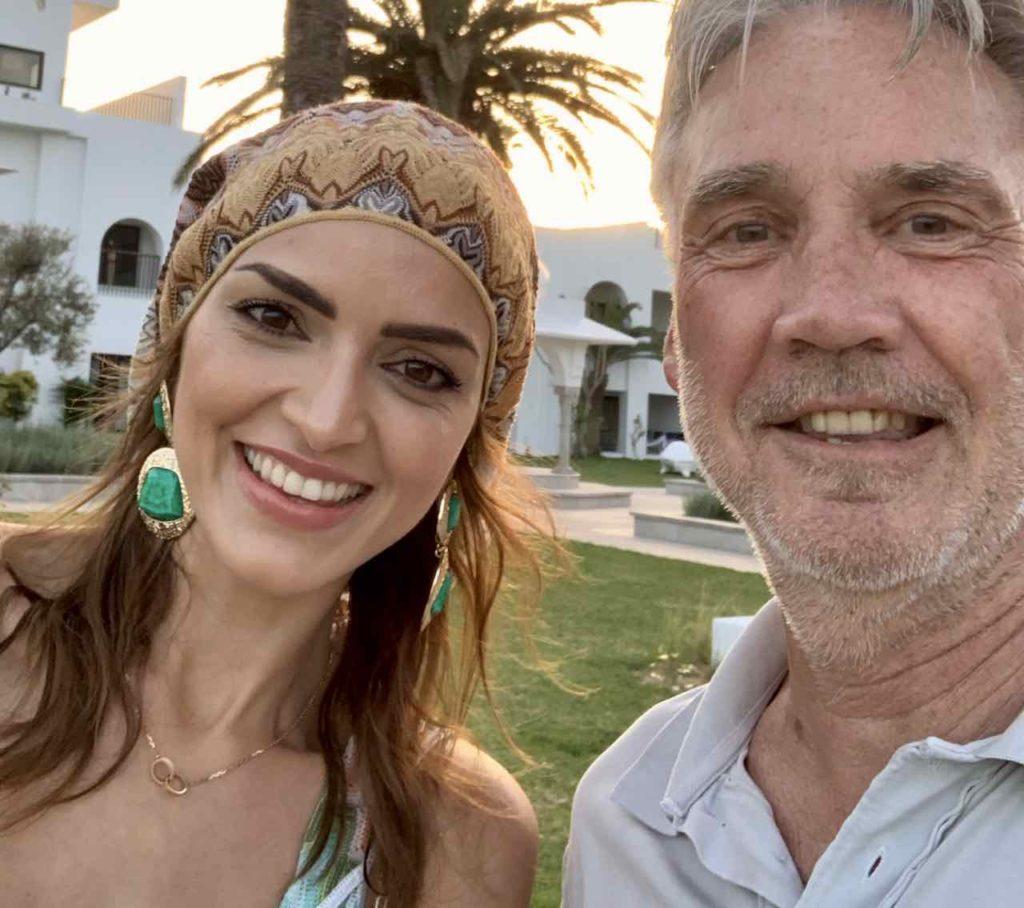 Auch der tunesische Superstar Samira Magroun schaut gerne mal im Hotel LTI Les Orangers Garden vorbei