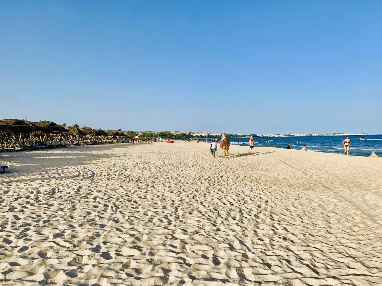 Strand von Hammamet, Tunesien