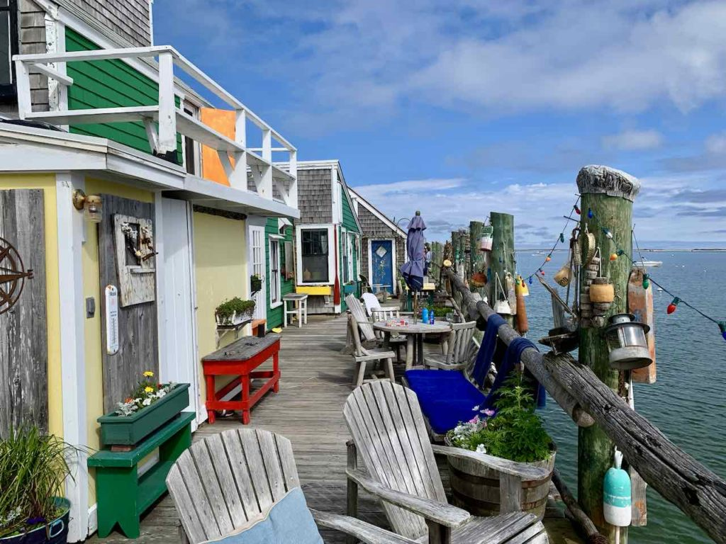 Captain Jack's Wharf in Provincetown