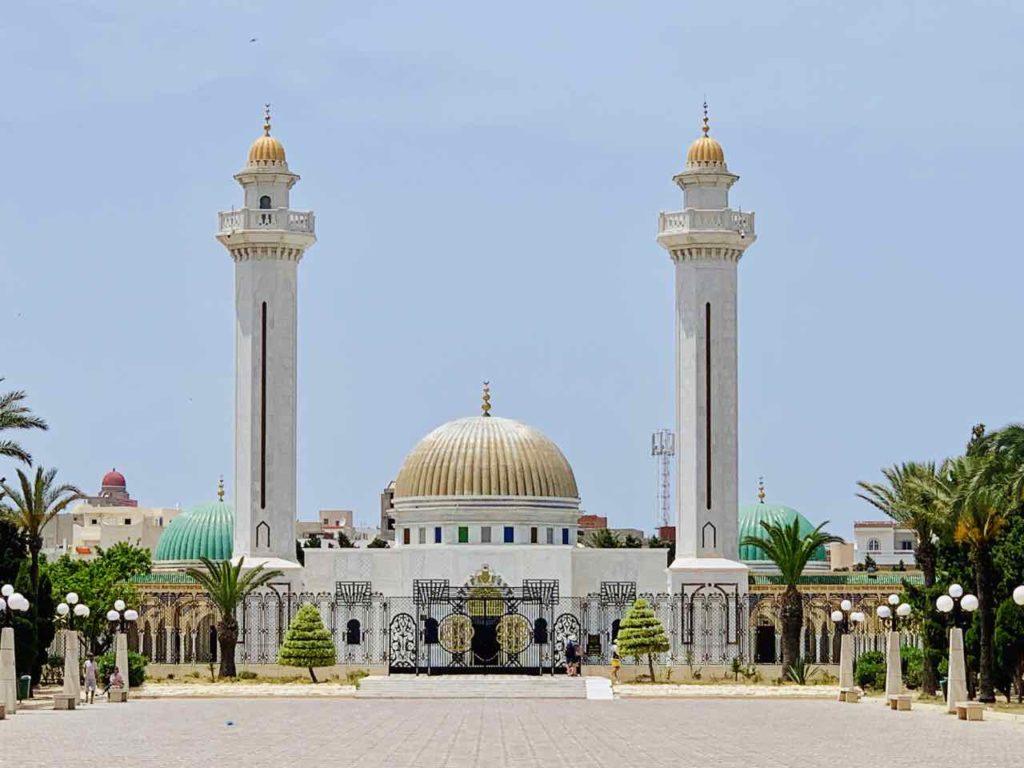 Mausoleum von Habib Bourguiba in Monastir