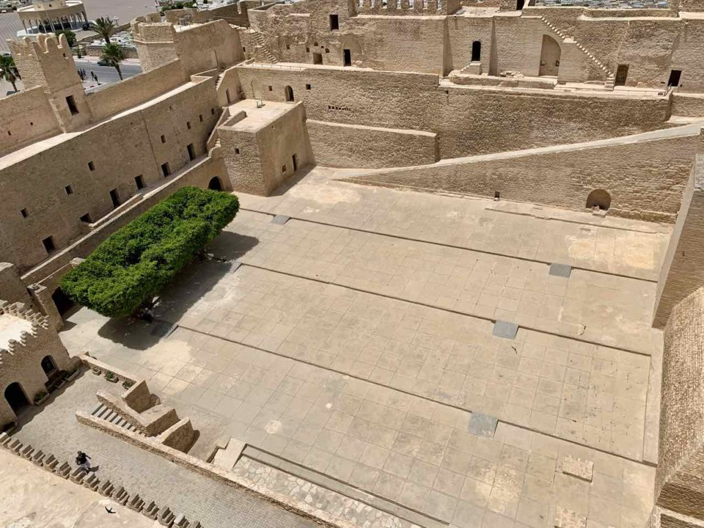 Innenhof des Ribat von Monastir