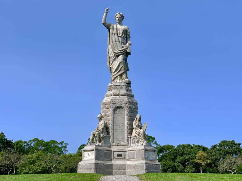 National Monument to the Forefathers in Plymouth MA