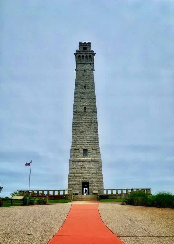 Pilgrim Monument in Provincetown auf Cape Cod