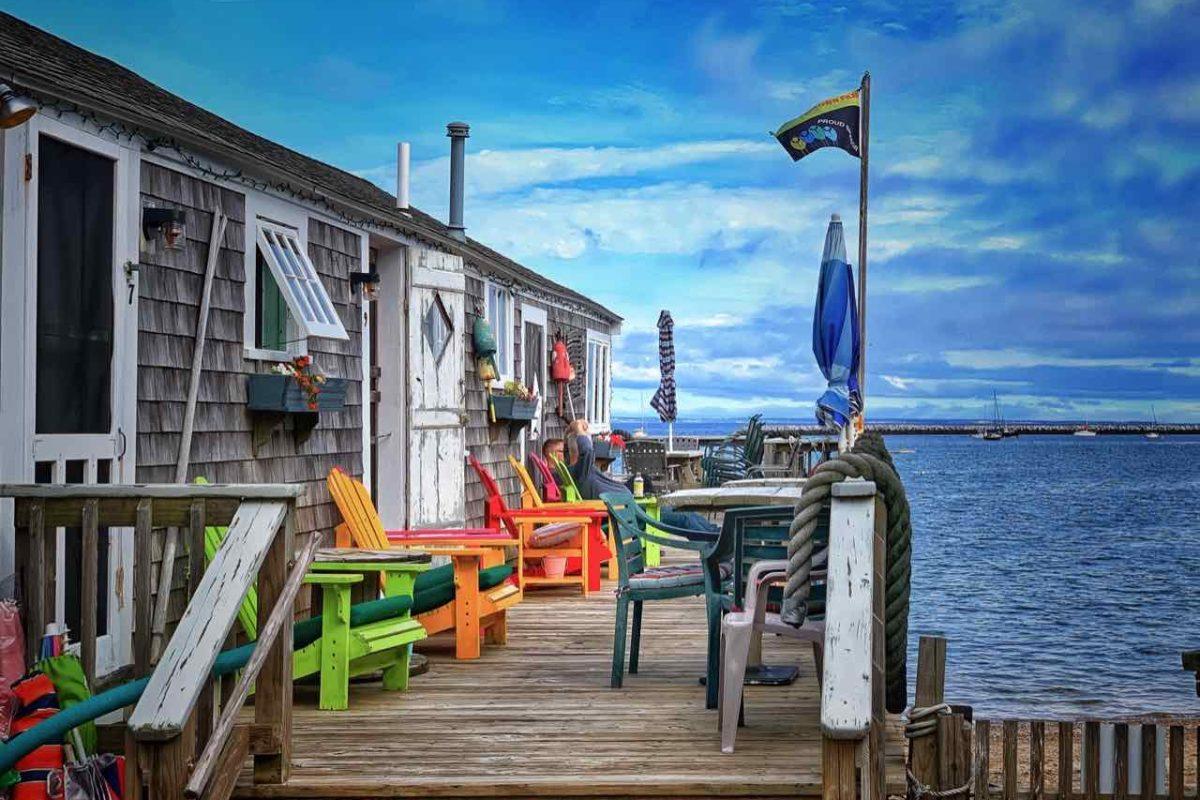 Poor Richard's Landing in Provincetown auf Cape Cod