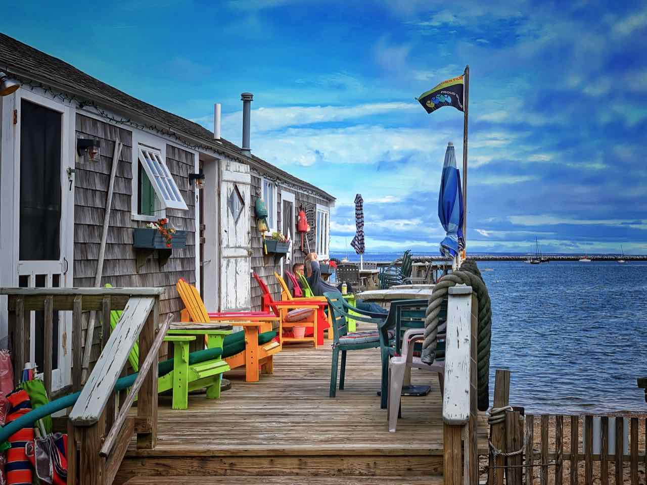 Poor Richard's Landing in Provincetown auf Cape Cod
