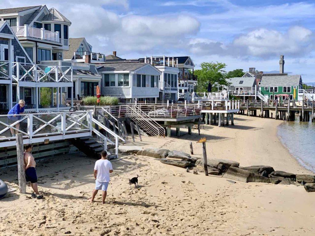 Stadtstrand von Provincetown auf Cape Cod