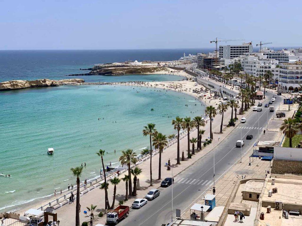 Strandpromenade von Monastir