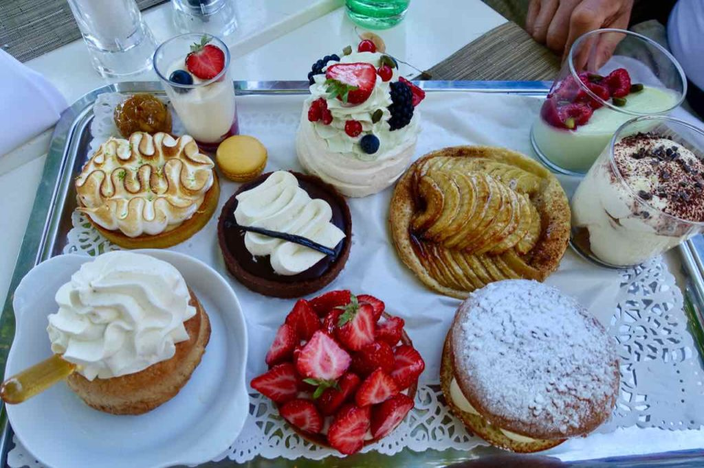 Dessert im Le Tilleul