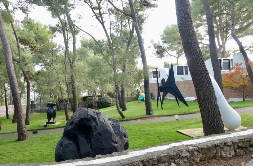 Skulpturengarten der Fondation Maeght