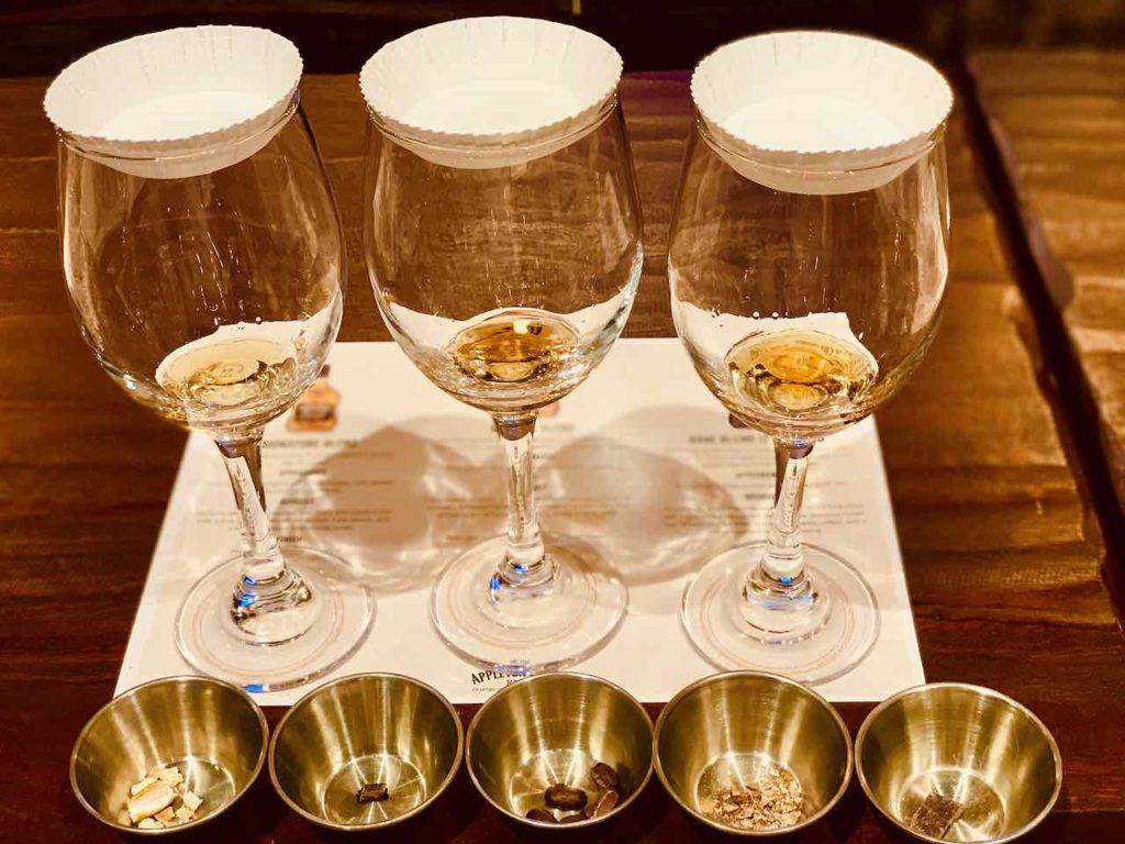 Rum Verkostung auf dem Appleton Estate