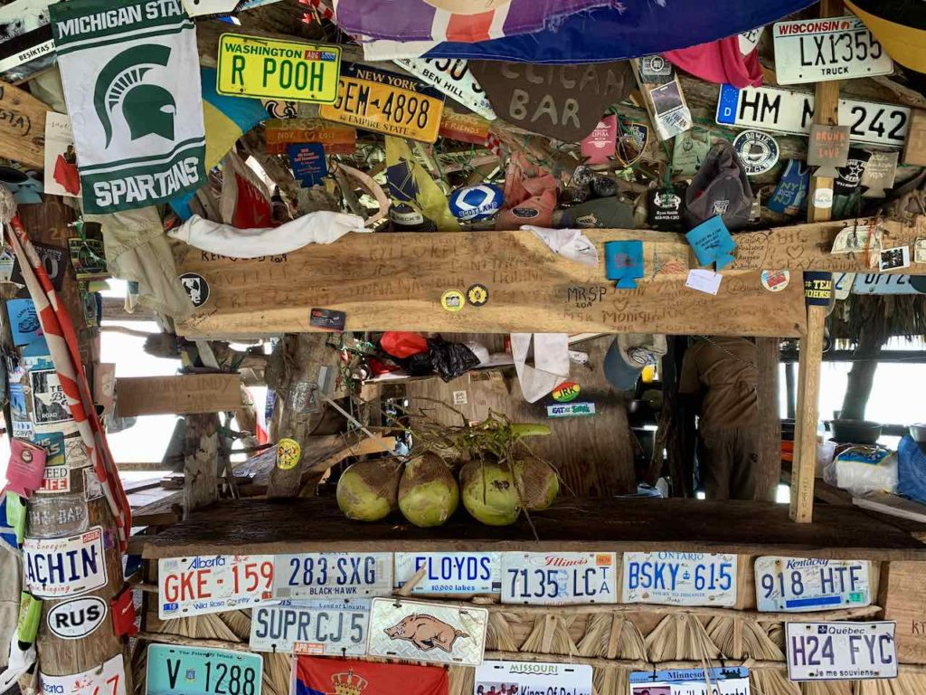 Floyd's Pelican Bar in Jamaika