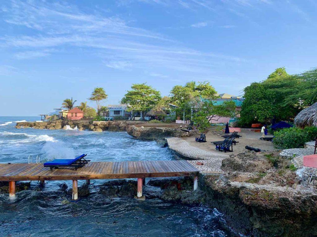 Jake's Hotel in Treasure Beach