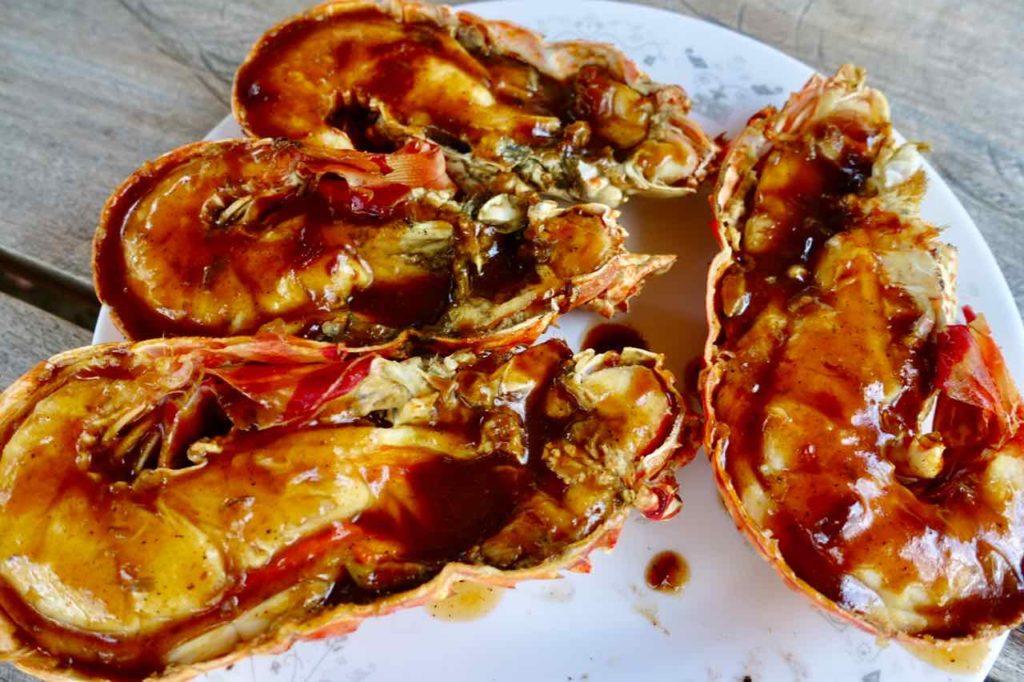 Lobster mit Jerk-Sauce