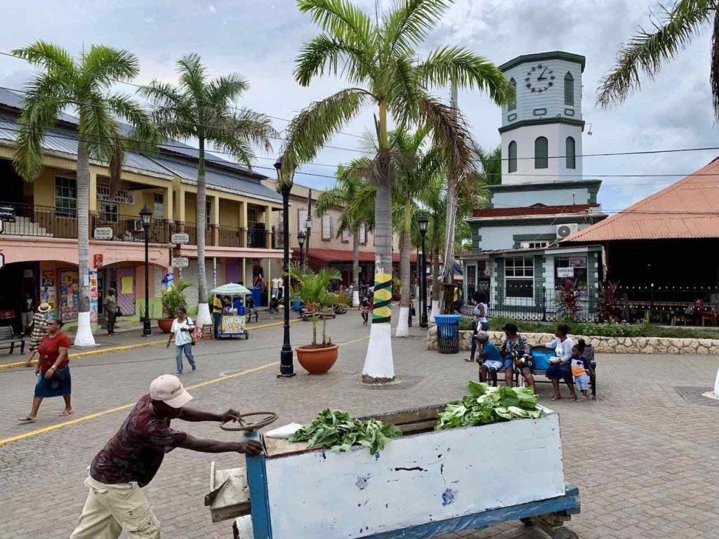 Das Kolonialstädtchen Falmouth in Jamaika