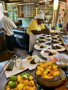 Highlights in Jamaika: Küche des Zimbali's Mountin Cooking Studio in der Nähe von Negril