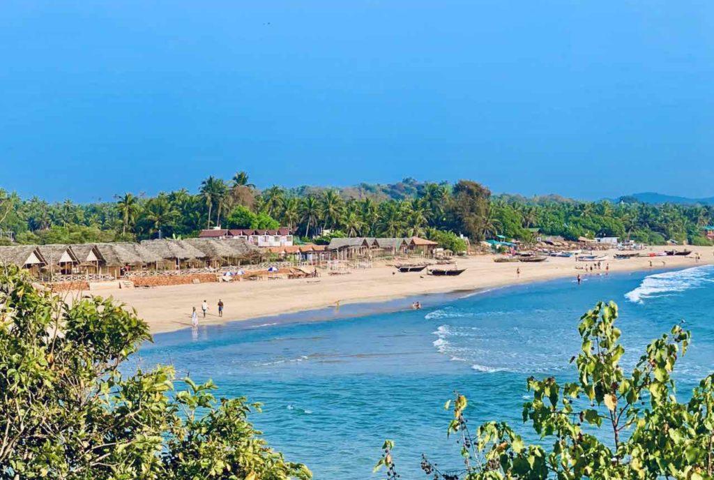 Totale von Agonda Beach, Goal