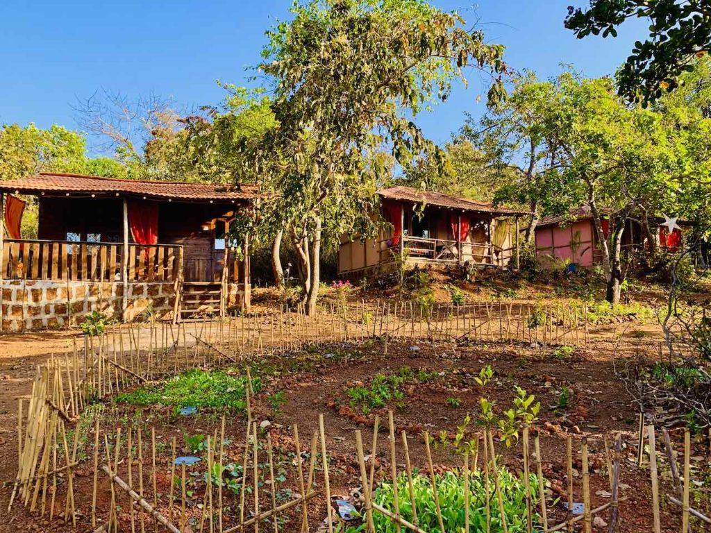Galaxy Jungle Huts bei Agonda (Goa)