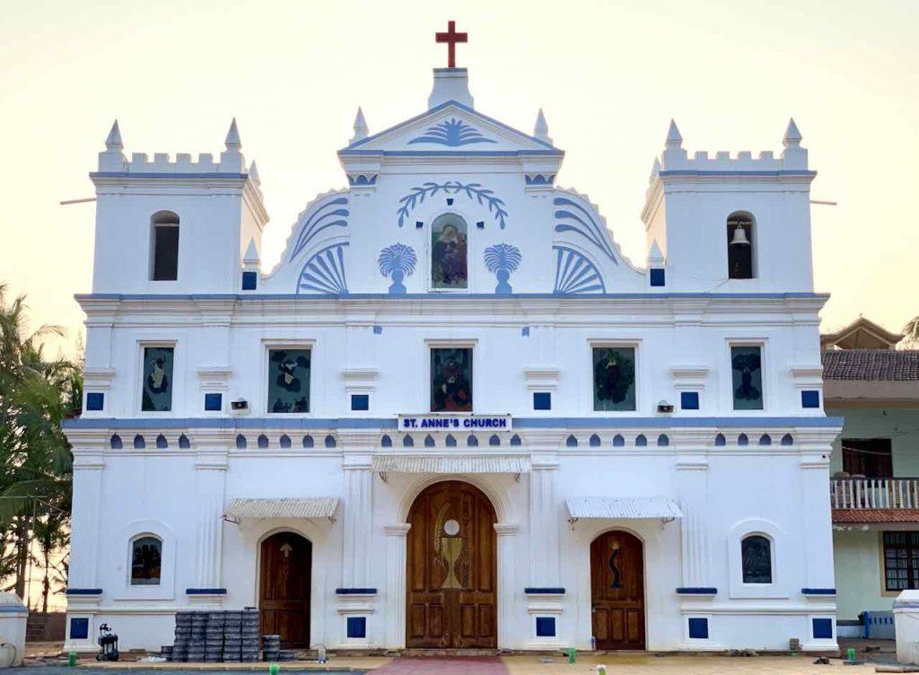 Portugiesische Kirche in Agonda