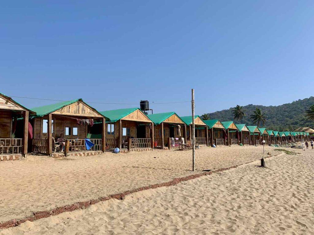 Saxony Beach Huts in Agonda