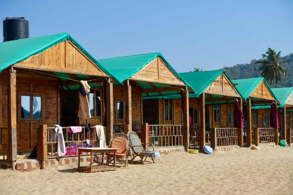 Saxony Beach Huts in Agonda Beach