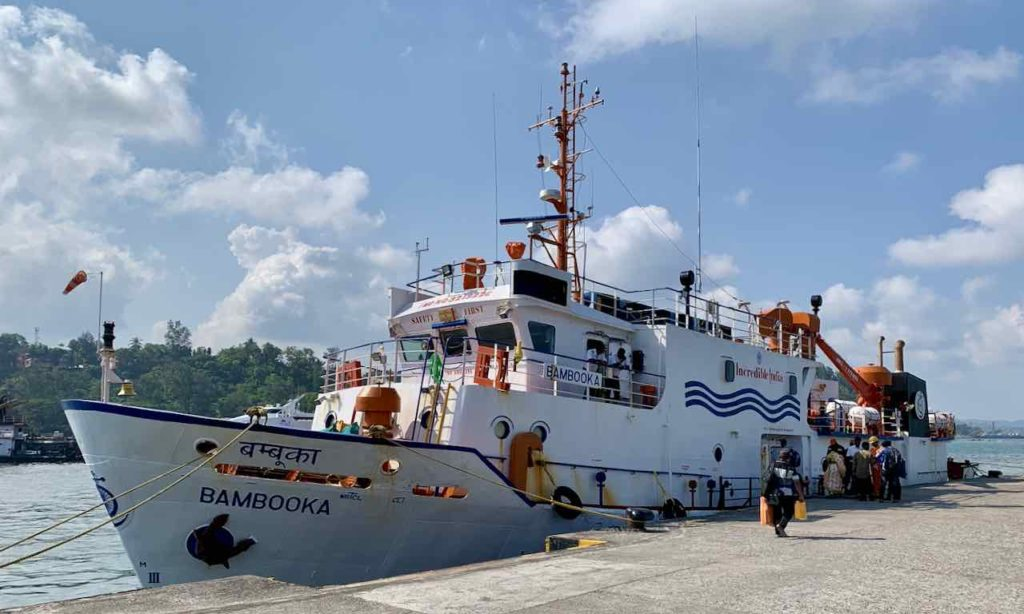 Andaman Islands: Ferry