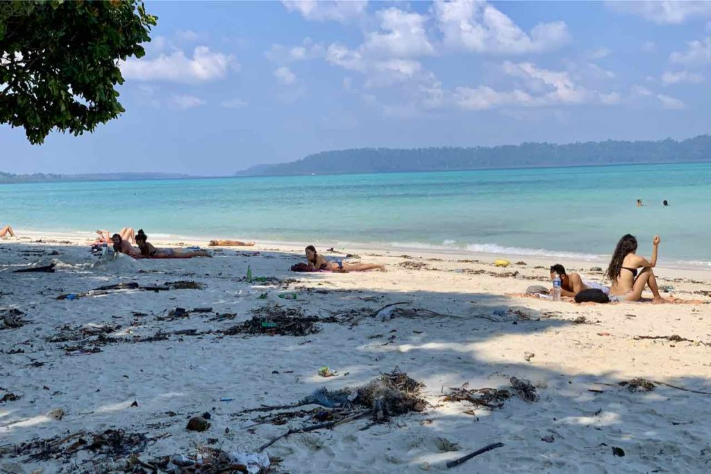 Andaman Islands: Havelock Island Beach Number 5