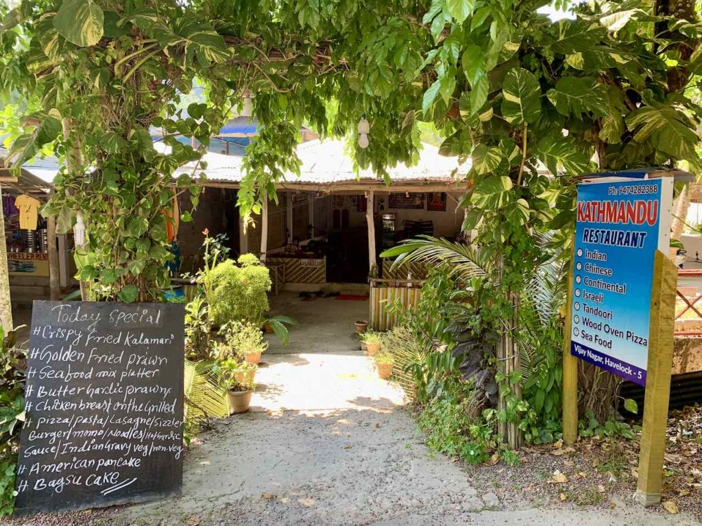 Andamanen: Havelock Island, Kathmandu Restaurant