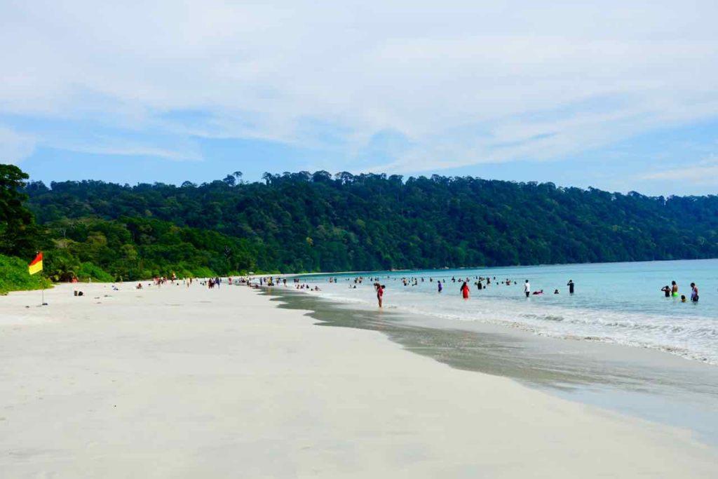 Andamanen Indeln: Havelock Island, Radhanagar Beach