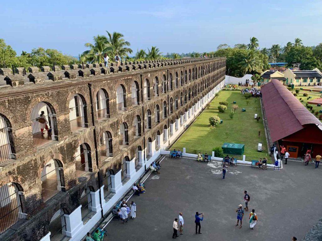 Andaman Islands: Port Blair: National Monument Cellular Jail