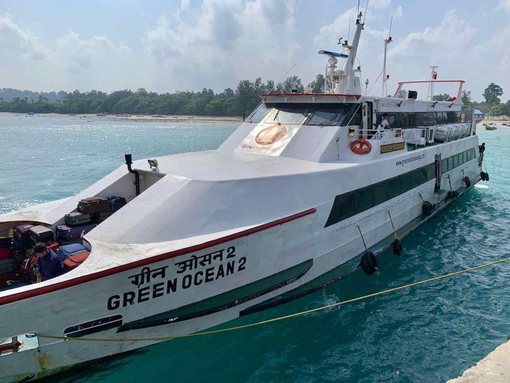 Andamanen: Private Fähre