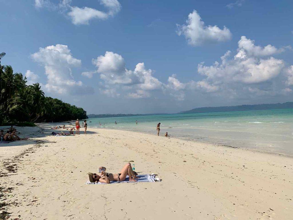 Strand auf Havelock Island
