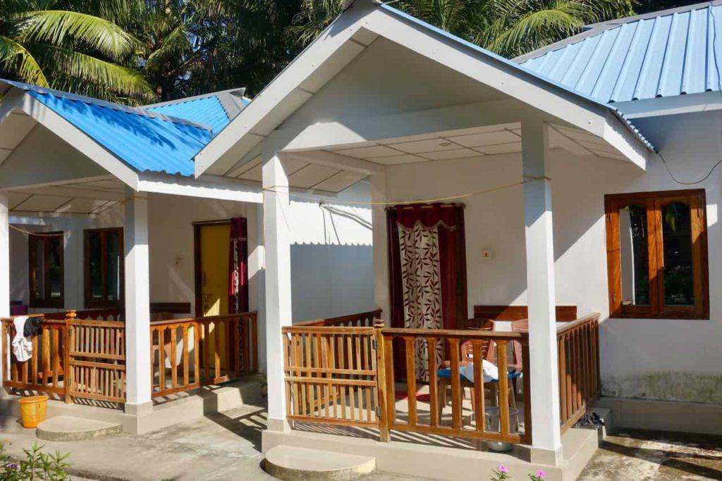 Andamanen: Unterkunft Break Water auf Neill Island