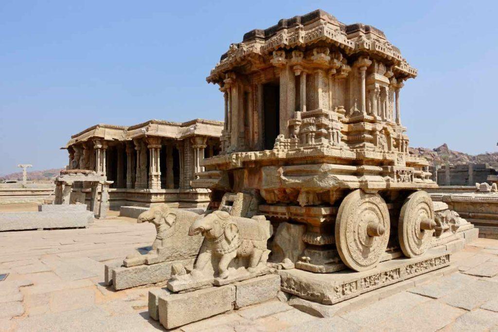 Prozessionswagen im Vitthala Temple