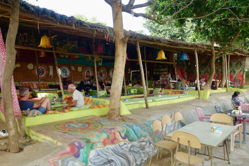 Restaurant Laughing Buddha in Virupapura Gaddi
