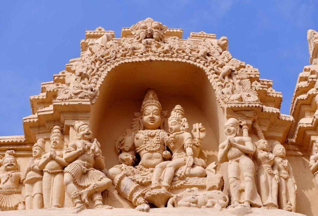 Virupaksha Temple, Detail