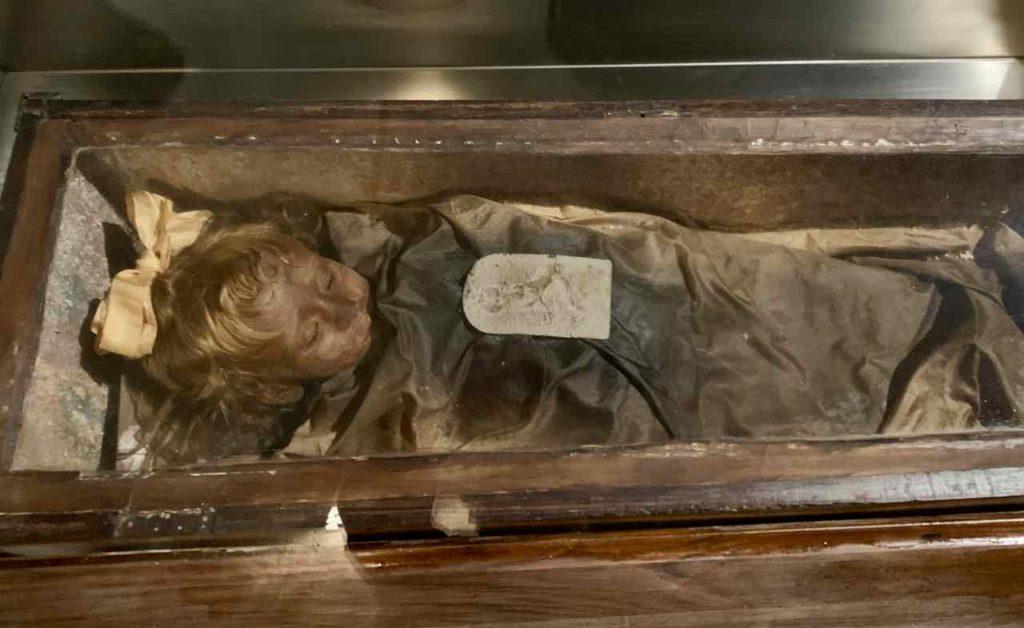 Palermo, Mumien in der Kapuzinergruft: Die zweijährige Rosalia Lombardo