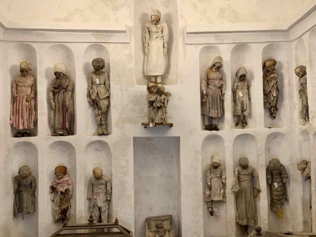 Palermo, Kinder-Mumien in der Kapuzinergruft