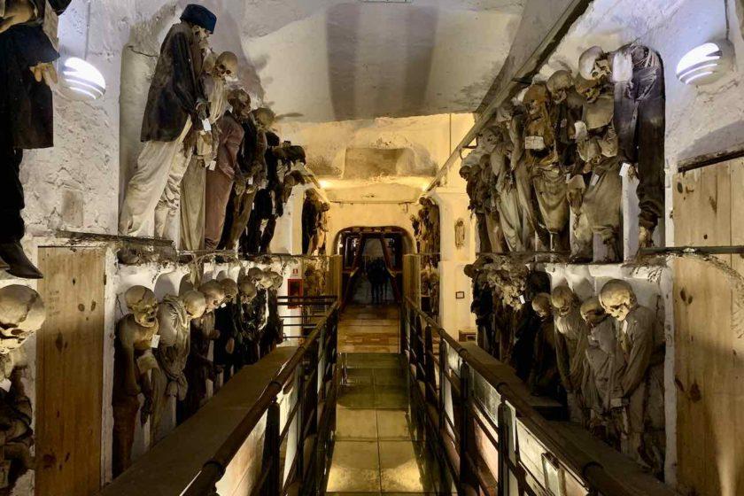 Palermo: Mumien in der Kapuzinergruft