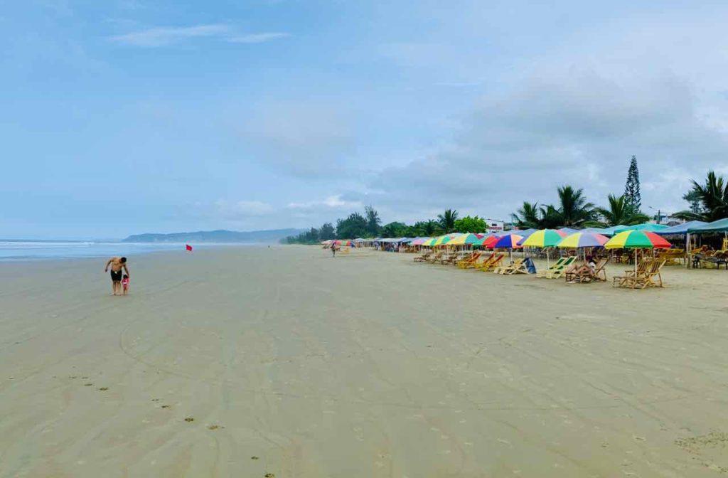 Strand von Olón, Ecuador