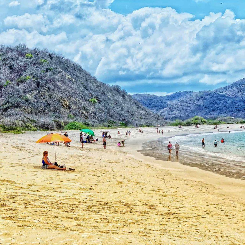 Playa Los Frailes im Parque Nacional Machalilla, Ecuador