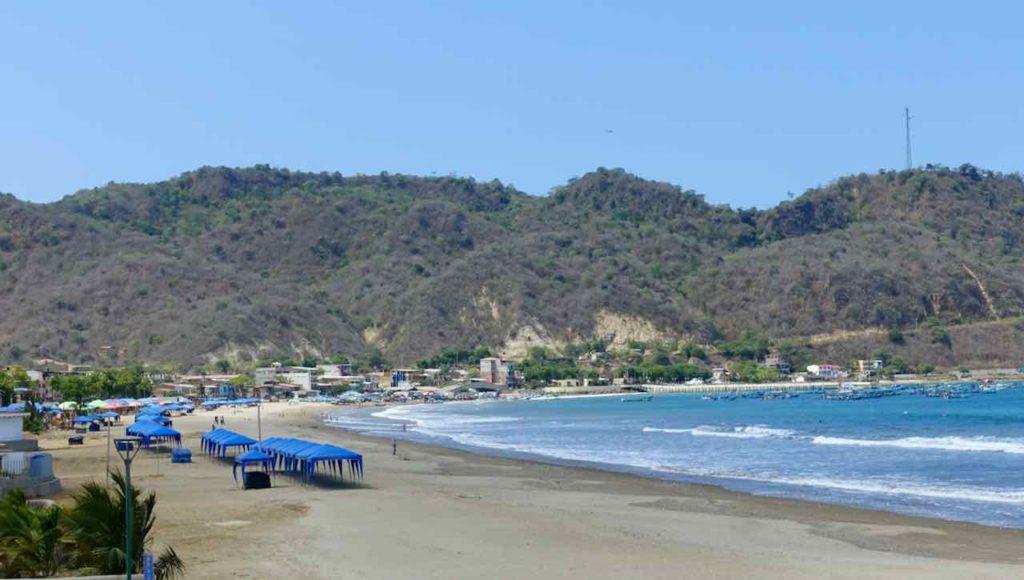 Strand von Puerto Lopez