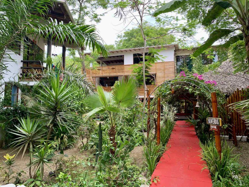 Spondylus Lodge in Ayampe, Ecuador