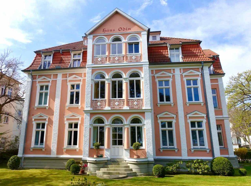 Bäderarchitektur auf Usedom, Haus Odin