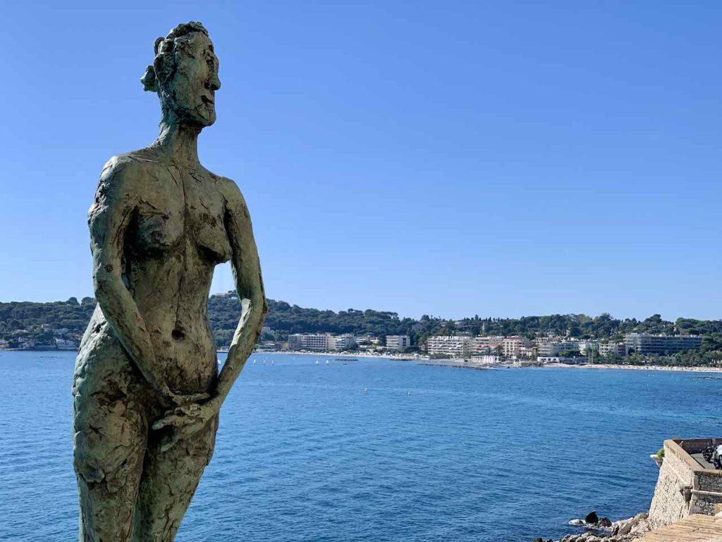 Ausblick vom Picasso Museum in Antibes