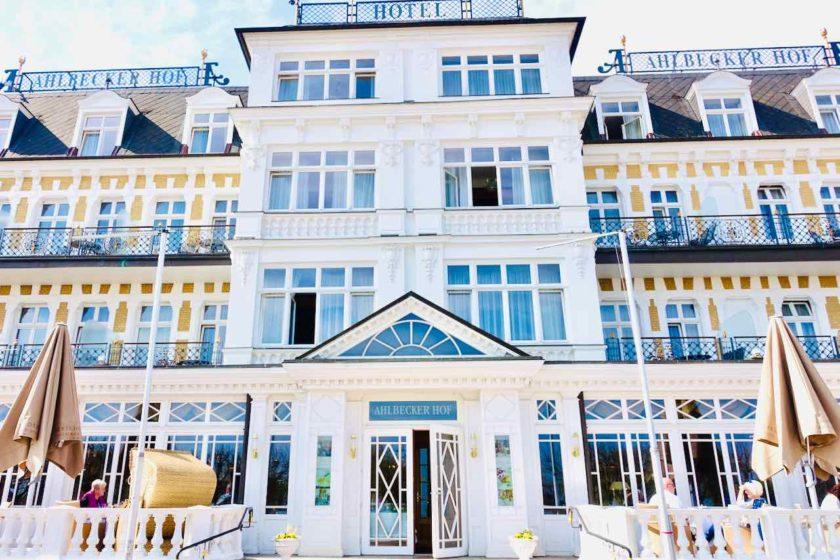 Bäderarchitektur auf Usedom: Ahlbecker Hof